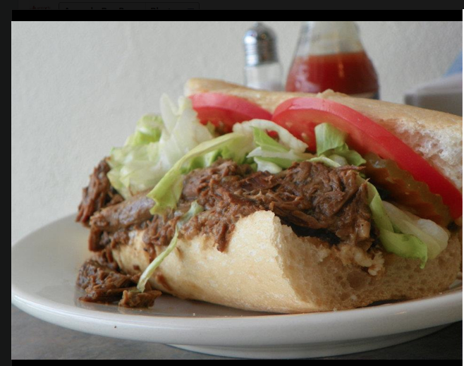 Roast Beef Poboy - A New Orleans favorite